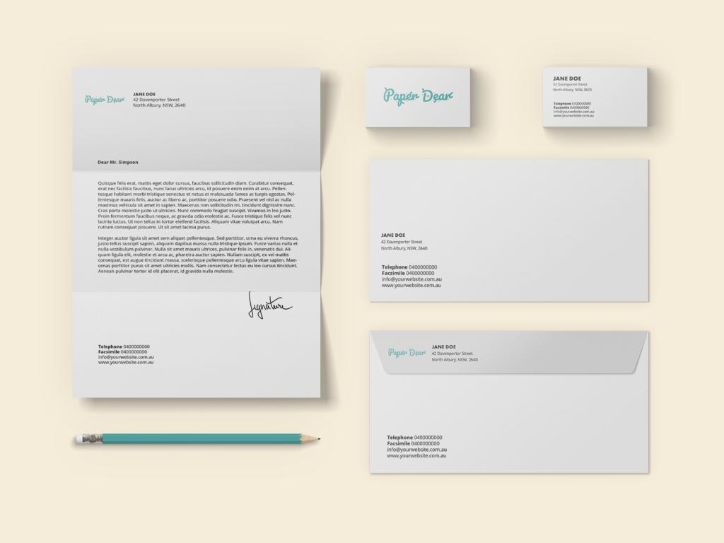 Paper Dear